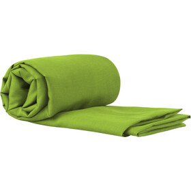Sea to Summit Silk/Cotton Travel Liner Traveller with Pillow Slip green